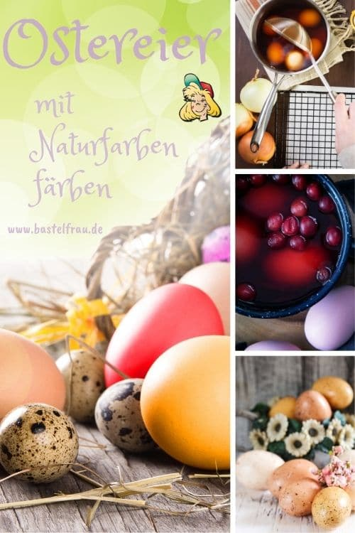 Ostereier mit Naturfarben färben