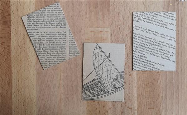 Hintergrundpapier aus Büchern und Zeitungen