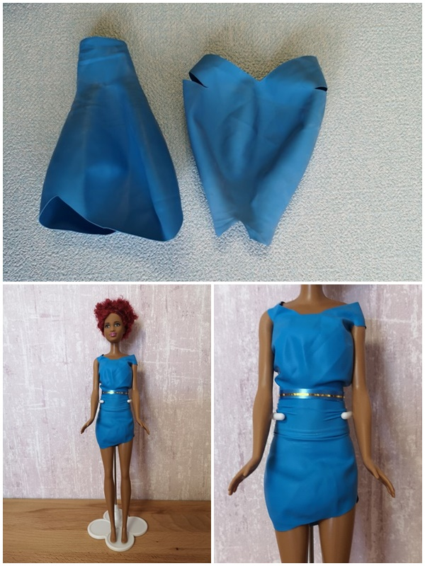 Barbiekleider aus Luftballons