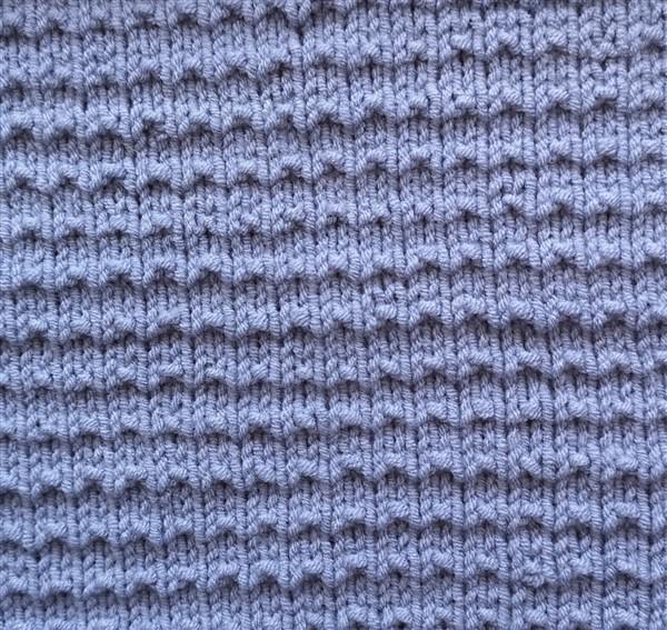 Waschlappen aus Milchgarn stricken