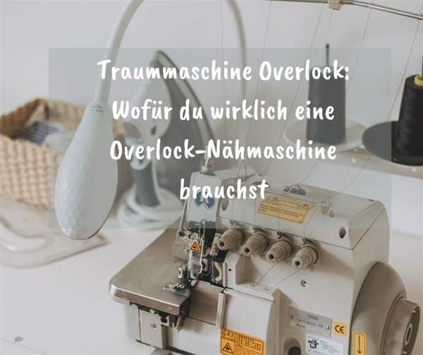 Overlock-Nähmaschine