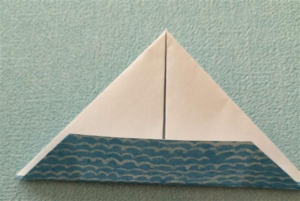Segelboot falten