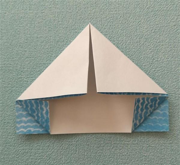 Segelschiff falten