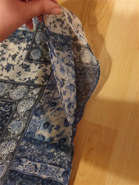 Strandkleid aus einem Schal nähen