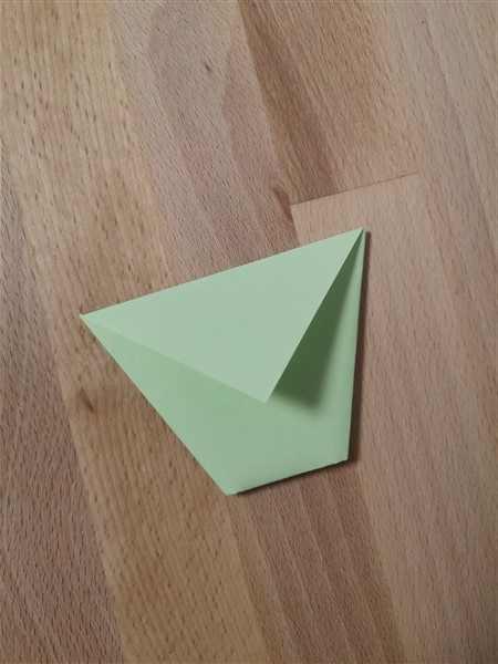 Origamibecher falten