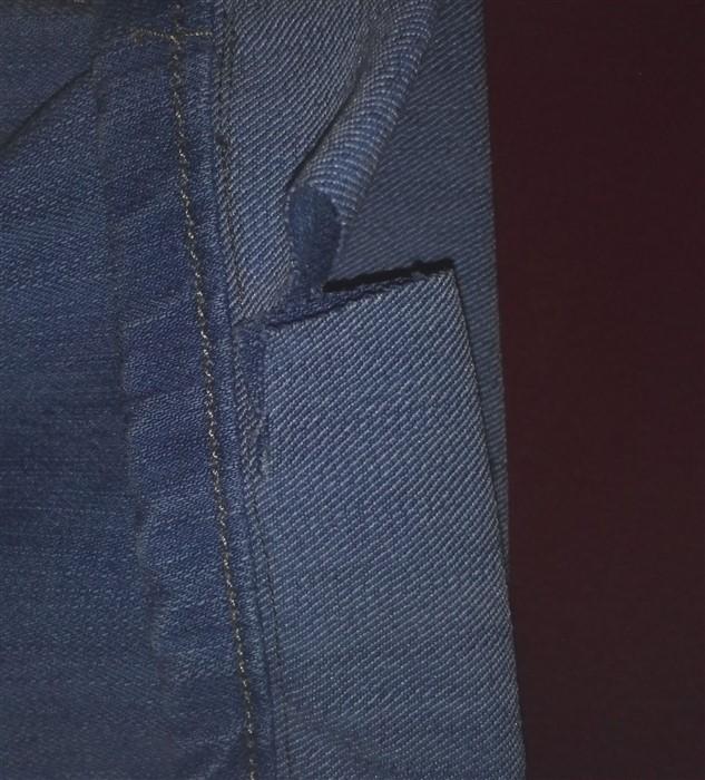 Original-Saum beim Jeanskürzen erhalten