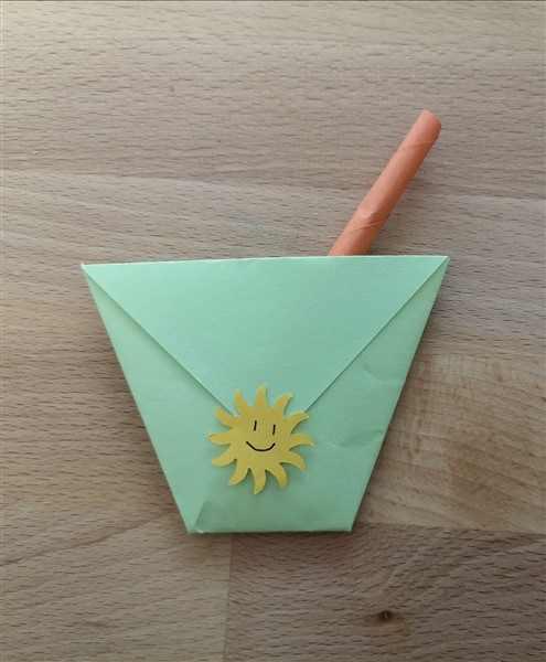 Origami Einladungskarte basteln