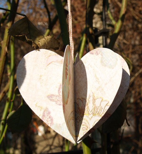 Ornament aus Herzen