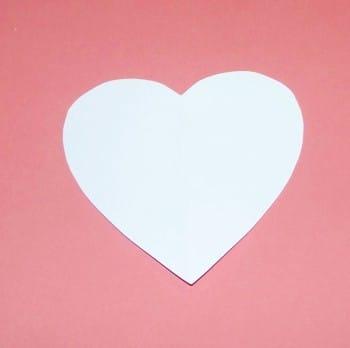 Herzschablone selber machen