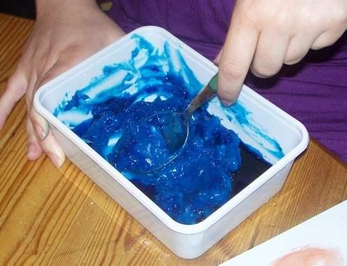 Puddingfarbe selbermachen