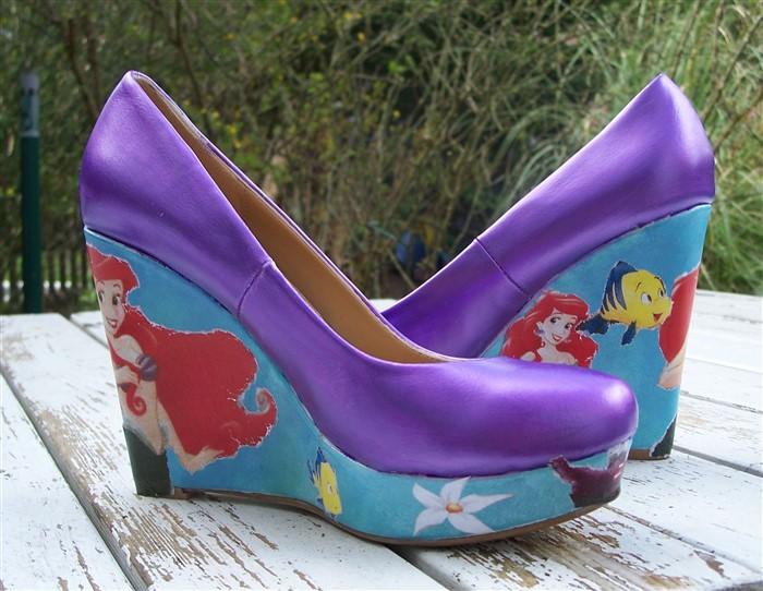 Disney Schuhe basteln
