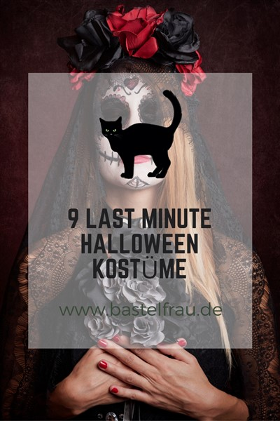 9 Last Minute Halloween Kostüme