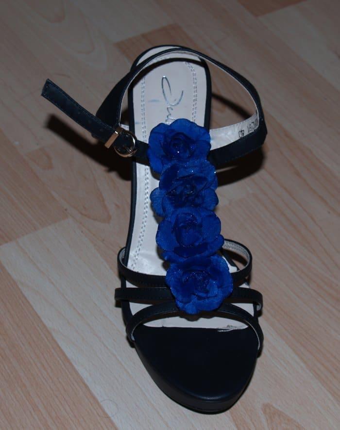 Wechselverzierung für Schuhe selber machen