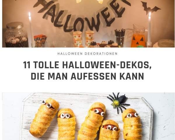 11 Halloween-Dekos zum Aufessen