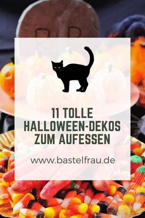 11 tolle Halloweendekos zum Aufessen