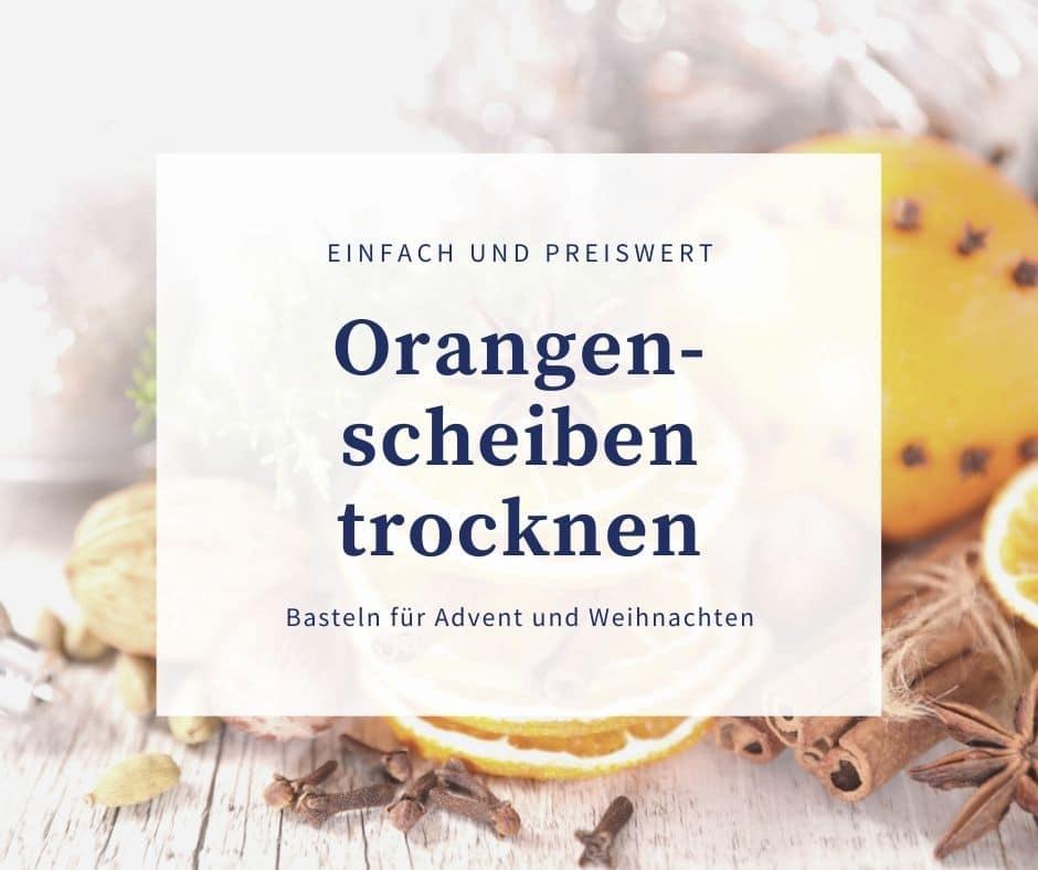 Orangen- und Zitronenscheiben trocknen