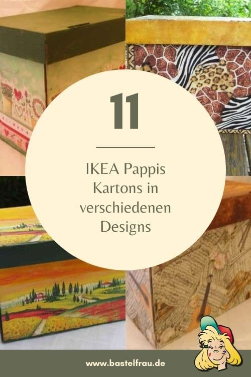 IKEA PAPPIS in Serviettentechnik