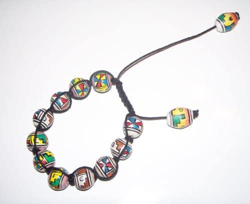 Shamballa Armband knüpfen