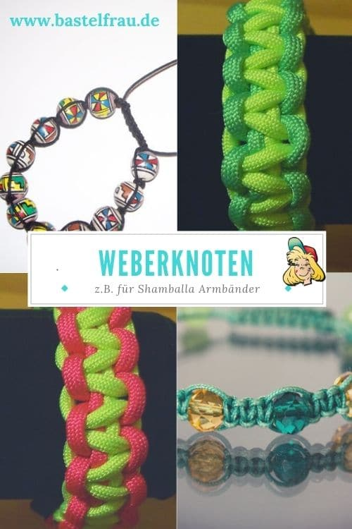 Weberknoten für Armbänder