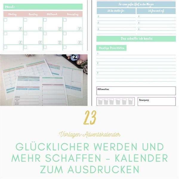 Mehr schaffen: Produktiver und glücklicher werden mit deinem ganz persönlichen Kalender