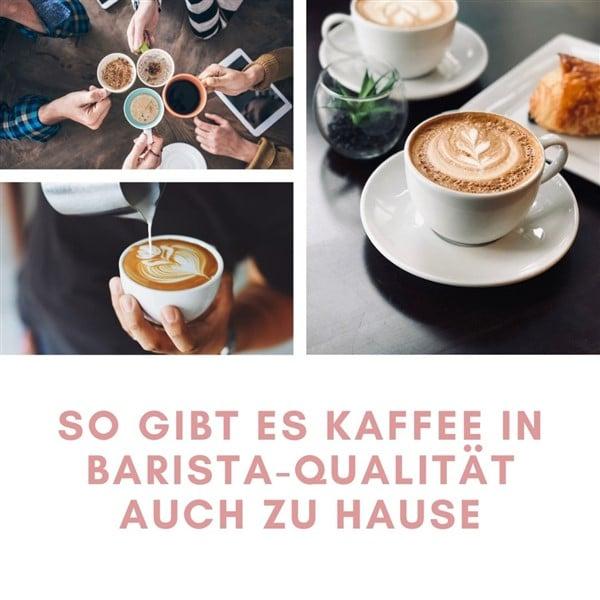 Kaffee in Barista-Qualität für zu Hause