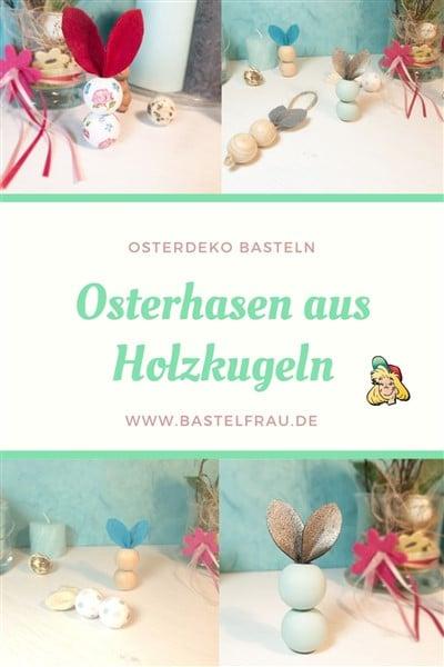 Osterdeko basteln, osterbasteln mit Kindern, Upcycling Osterdeko