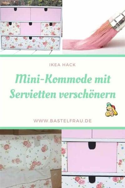 Moppe Ikea Hack: Mini-Kommode verschönern mit