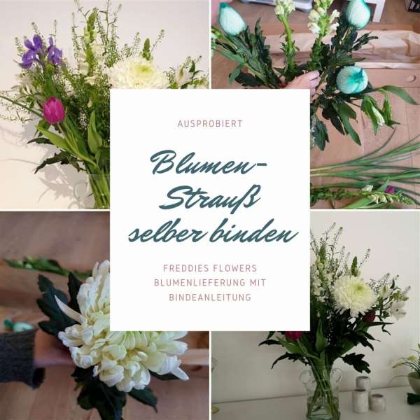 Blumenstrauß von Freddies Flowers