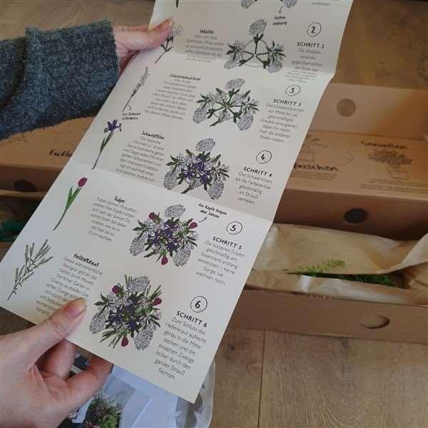 Anleitung Blumenstrauß binden