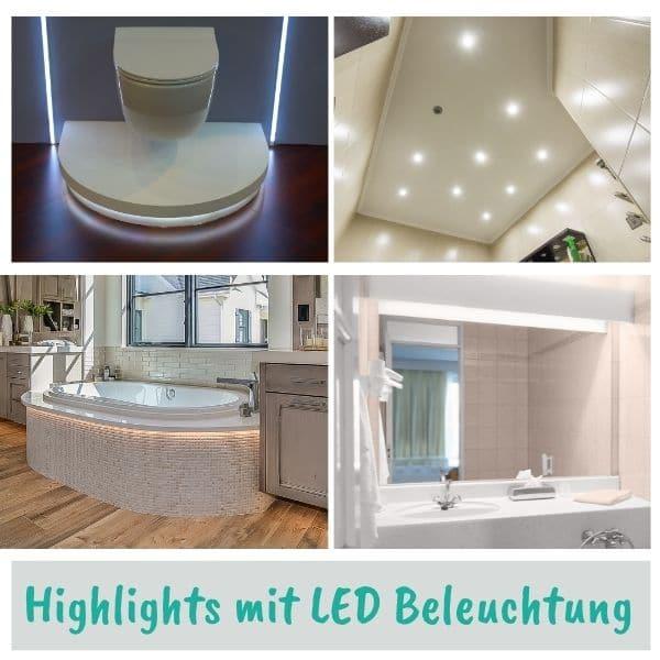LED Beleuchtung Bad