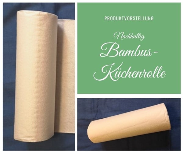 Nachhaltige Bambustücher statt Papierküchentücher