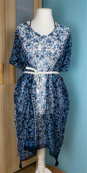 Schal Thrift Flip: Strandkleider nähen: Strandkleid aus einem Schal
