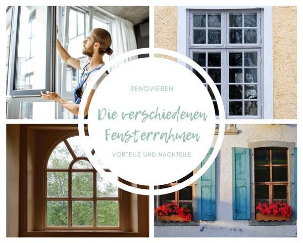 Renovieren: Fensterrahmen