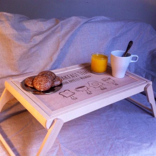 Frühstückstablett fürs Bett