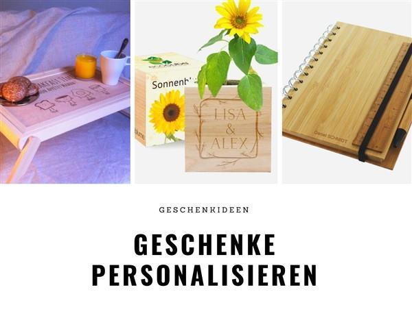 Geschenke personalisieren