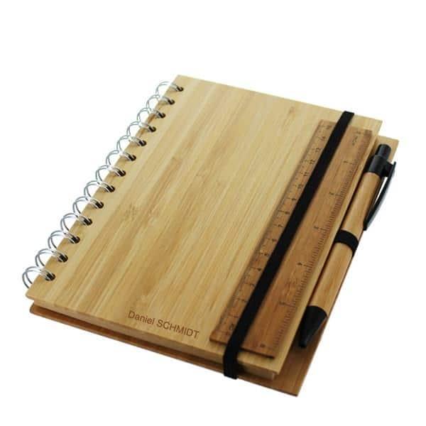 Notizbuch aus Bambus