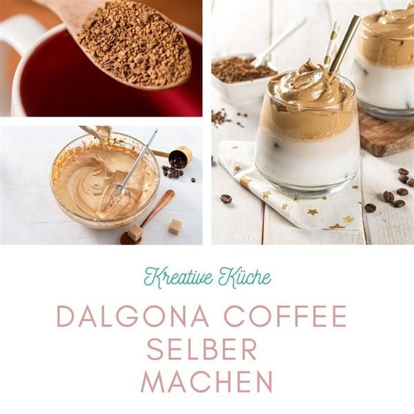 Dalgona Coffee selber machen
