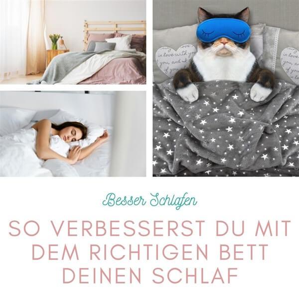 So verbesserst du mit dem richtigen Bett deinen Schlaf