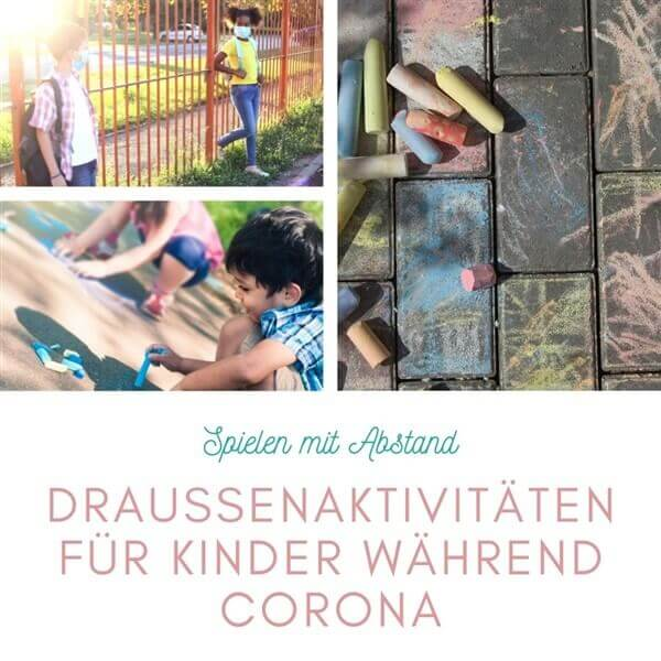 Spiele mit Abstand: Draußenaktivitäten für Kinder während Corona