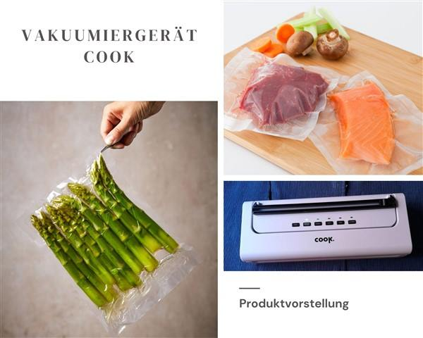Produktvorstellung Vakuumiergerät Cook