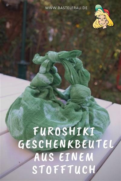 Furoshiki – Geschenkbeutel aus einem Stofftuch