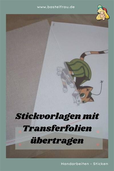 Stickvorlagen übertragen